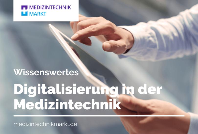 Digitalisierung in der Medizin und dem Gesundheitswesen