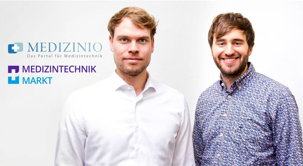 Christoph Bartram & Marvin Schön - Geschäftsführer von Medizinio
